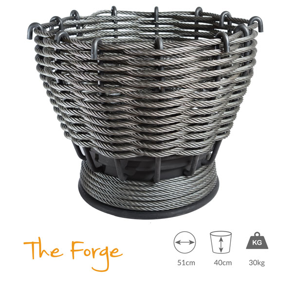 The Forge - Large Fire Pit - WireFires